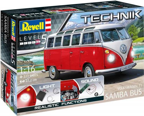 "Volkswagen T1""Samba Bus""-Technik 1/16"