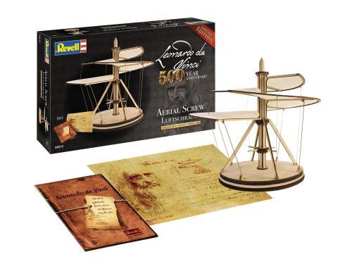 Leonardo Da Vinci's Aerial Screw 1/48
