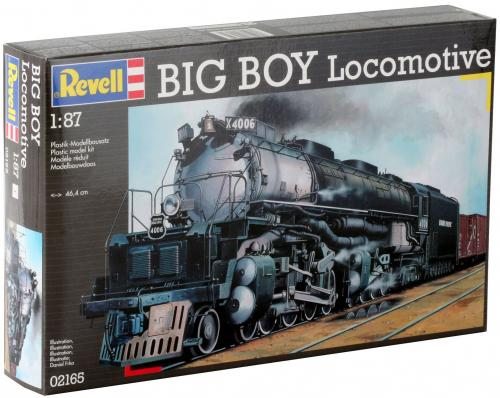 Big Boy Locomotive 1/87