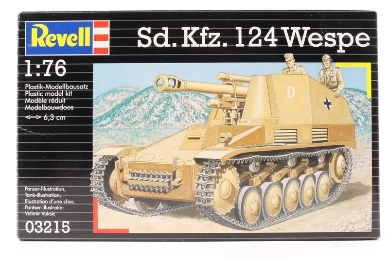 """SD,KFZ, 124 """"WESPE"""" 1/76"""