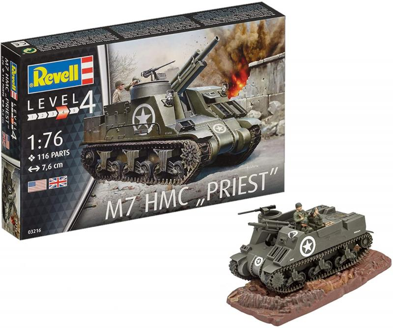 "M7 HMC ""PRIEST"" 1/76"