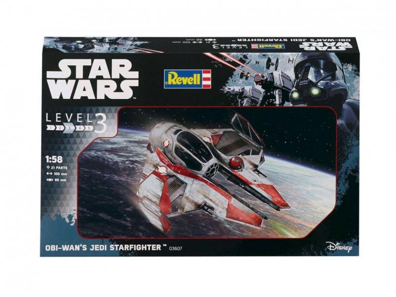 Obi-Wan's Jedi Starfighter 1/58