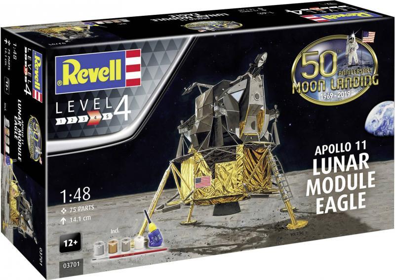Moon Landing 1/48 - Apollo 11 Lunar Module & Eagle
