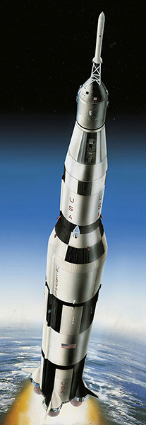 "Moon Landing 1/96 - Apollo 11 ""Saturn V"" Rocket"