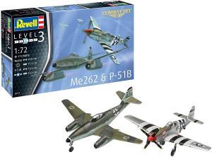 Combat Set Me262 & P-51B 1/72