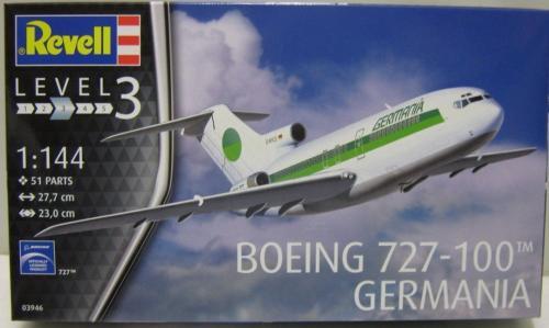 Boeing 727-100 Germania 1/144