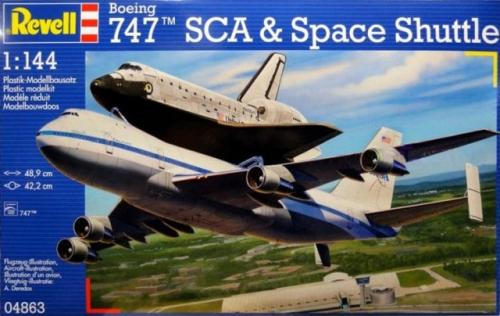 Boeing 747 SCA & Space Shuttle 1/144