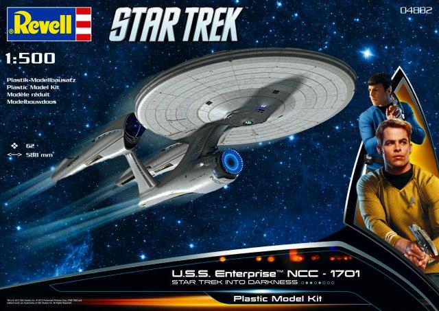U.S.S. Enterprise NCC-1701 1/500