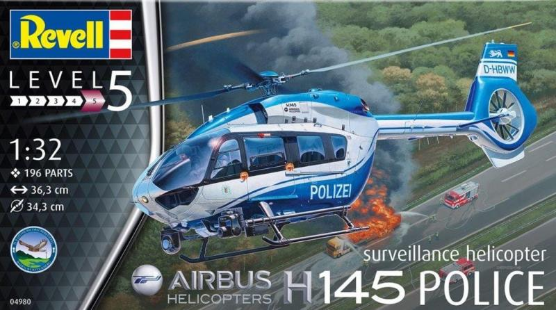 Airbus Helicopters H145 Police 1/32