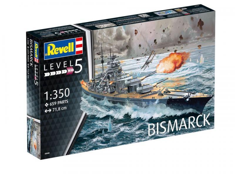 Battleship Bismarck 1/350