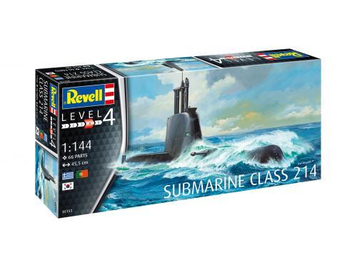Submarine Class 214 1/144