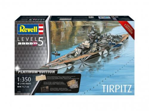Tirpitz Battleship Platinum Edition 1/350