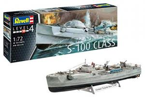 German Fast Attack Craft S-100 1/72