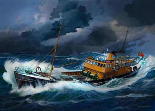 North Sea Fishing Trawler 1/142
