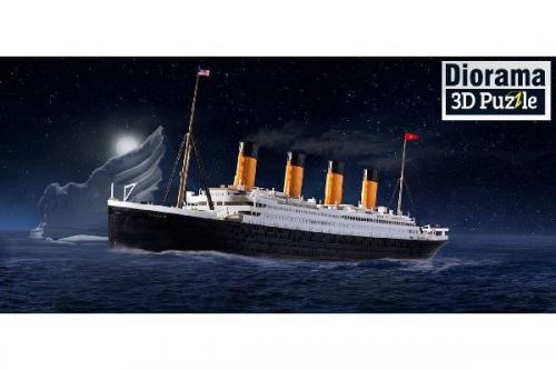 Presentset RMS Titanic + 3D Pussel (isberg) 1/24