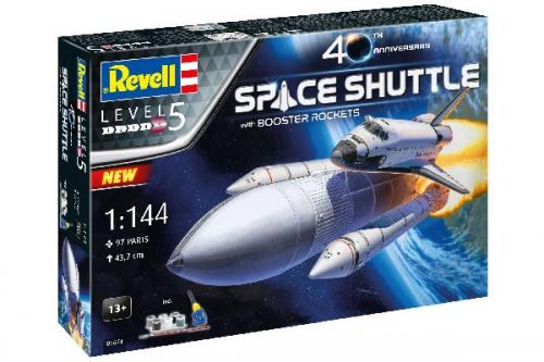 Presentset - Space Shuttle with Booster Rockets - 40th Anniversary 1/144