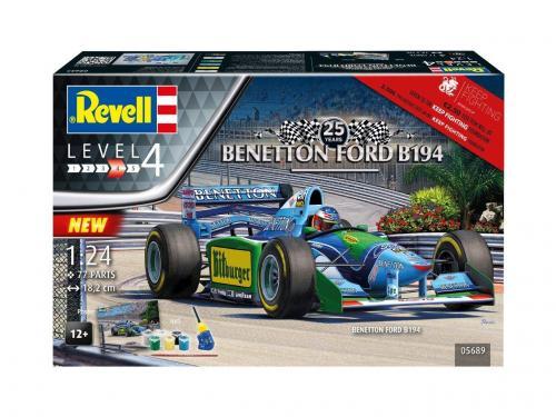 """25th Anniv. """"Benetton Ford B194"""" 1/24"""
