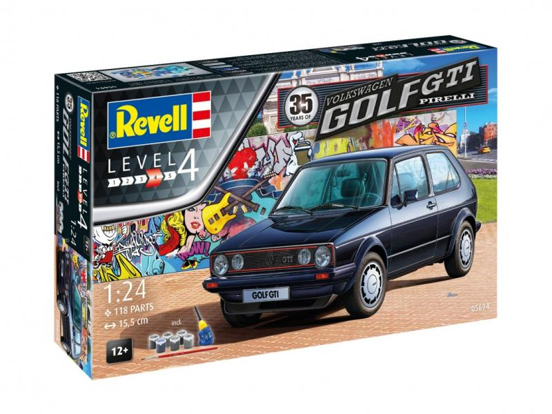 35 Years of the VW Golf GTi Pirelli 1/24