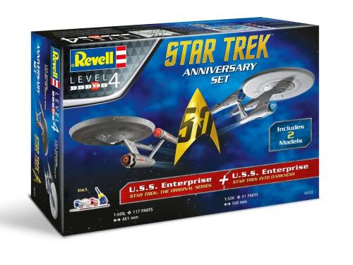 """Star Trek"" Gift-Set anniversary"