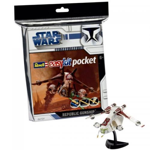 Republic Gunship 'Pocket' (snap fit)