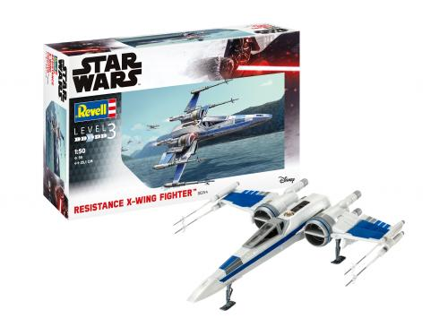Resistance X-Wing Fighter 1/50