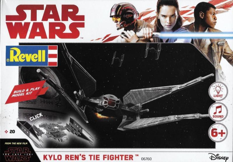 Kylo Ren's TIE Fighter 1/70