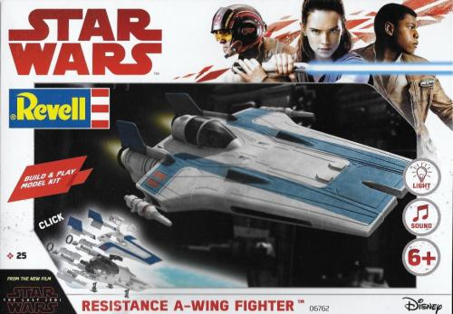 Star Wars Resistance A-Wing Fighter 1/44