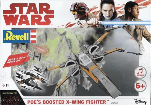 Star Wars Poe's Boosted X-Wing Fighter 1/78