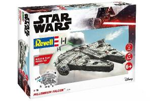 STAR WARS MILLENNIUM FALCON MODEL KIT 1/164