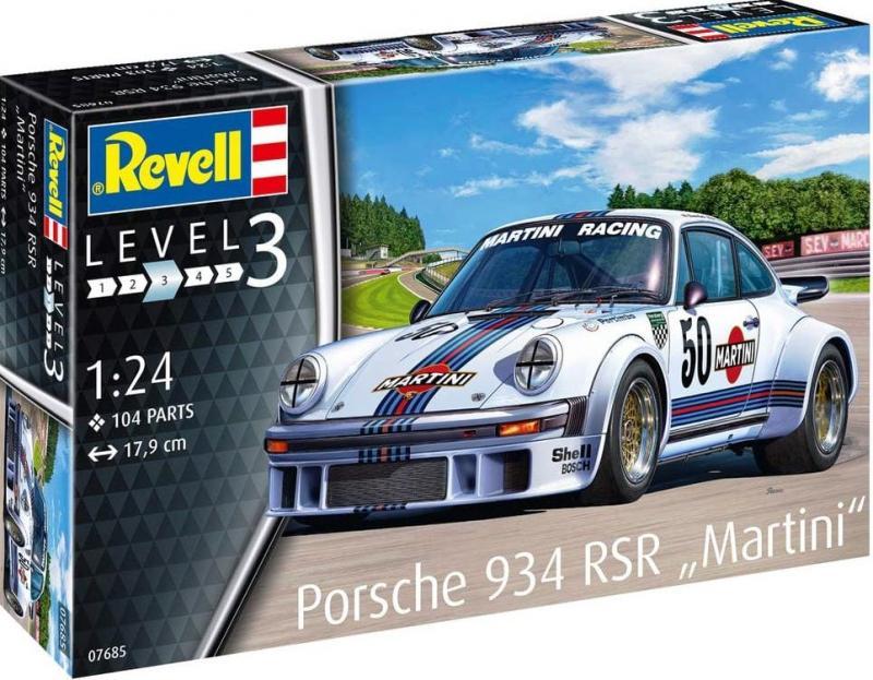 """Porsche 934 RSR """"Martini"""" 1/24"""