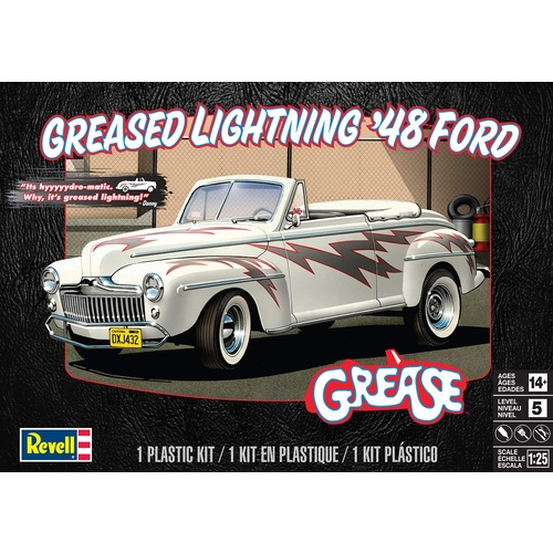 GREASED LIGHTNING 48 FORD CONVER 1/25
