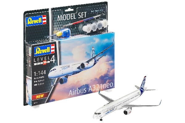 MODEL SET AIRBUS A321 NEO 1/144