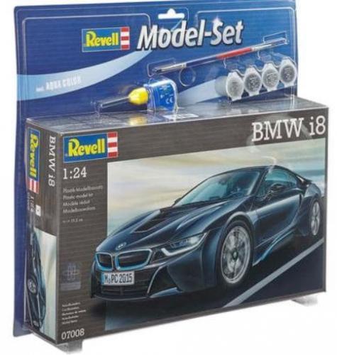 BMW i8 1/24 Model Set