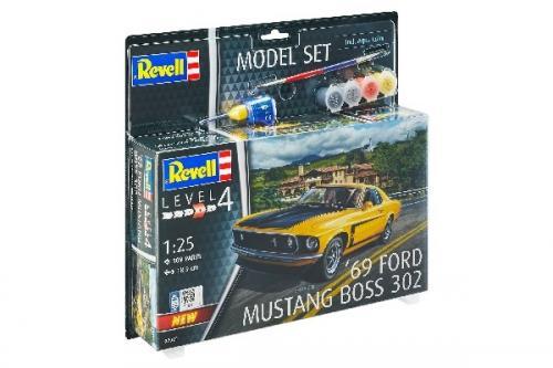 MODEL SET 1969 BOSS 302 MUSTANG 1/25
