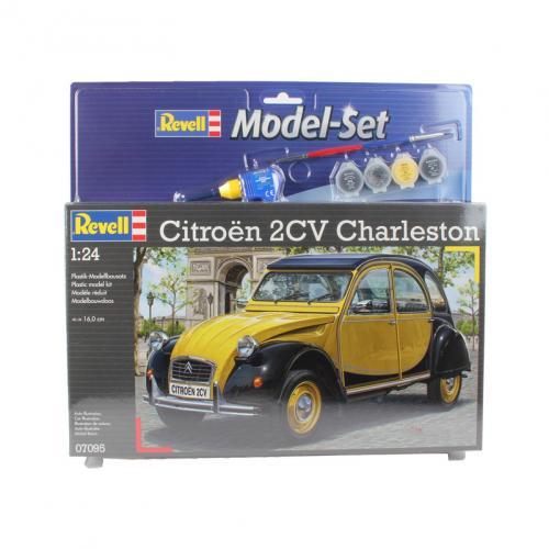 Citroën 2CV Charleston 1/24 Model Set