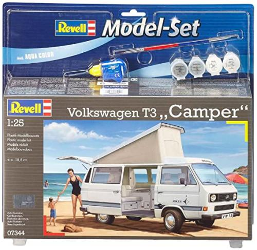 "MODEL SET VOLKSWAGEN T3 ""CAMPER"" 1/25"