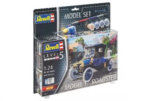 MODEL SET 1913 FORD MODEL T ROAD 1/24