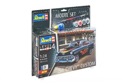 '56 CHEVY CUSTOMS 1/24 MODEL SET