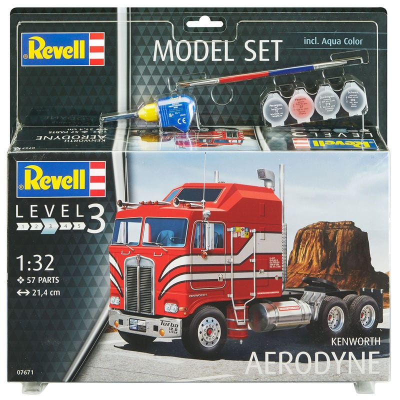 Kenworth Aerodyne 1/32 Model Set