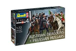 Austrian Dragoons + Prussian Hussars 1/72