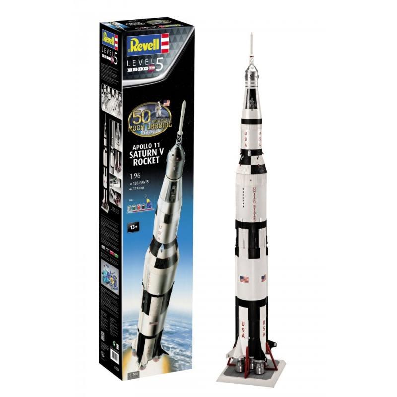 """Moon Landing 1/96 - Apollo 11 """"Saturn V"""" Rocket"""
