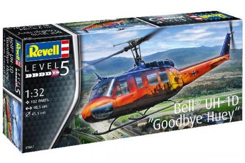"BELL UH-1D ""GOODBYE HUEY"" 1/32"