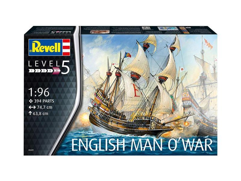 ENGLISH MAN O'WAR 1/96