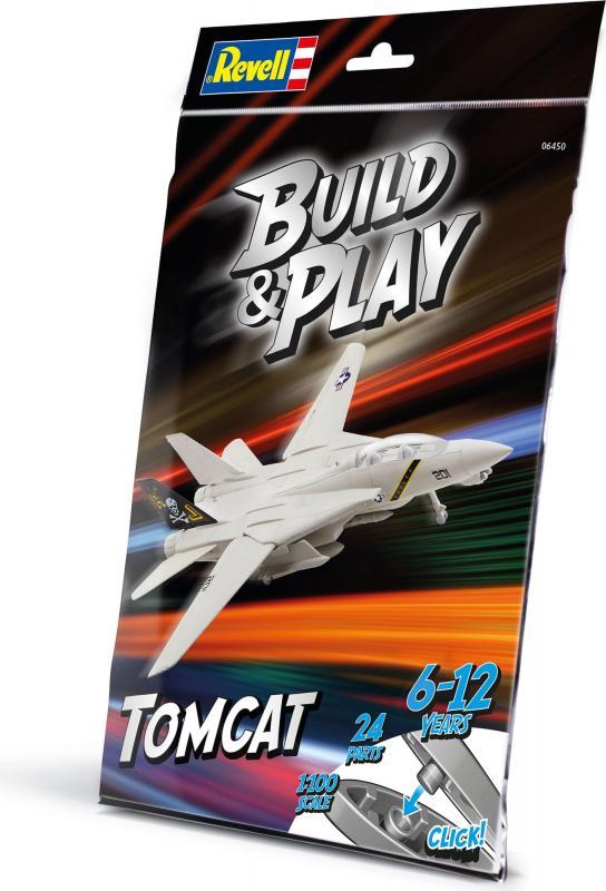 BUILD & PLAY F-14 TOMCAT