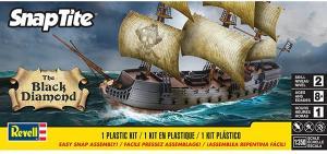 The Black Diamond Pirate Ship 1/350
