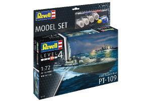 MODEL SET PATROL TORPEDO BOAT PT-109 1/72