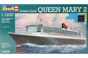 MODEL SET QUEEN MARY 2 1/1200