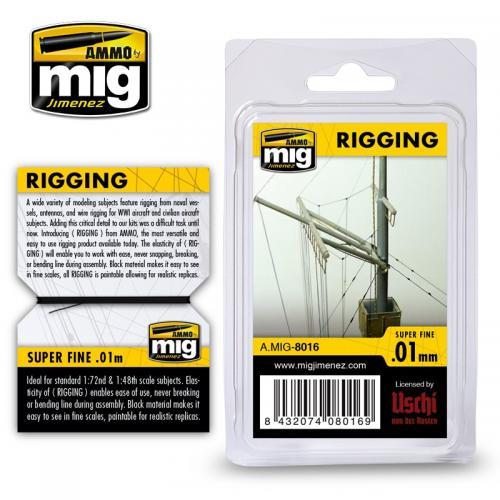 Riggtråd - super fine 0,01mm