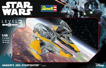 Star Wars Anakin's Jedi Starfighter 1/58