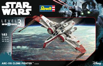Star Wars ARC -170 Fighter 1/83